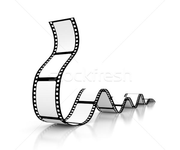 映画 デザイン 画面 黒 白 スタジオ ストックフォト © SSilver