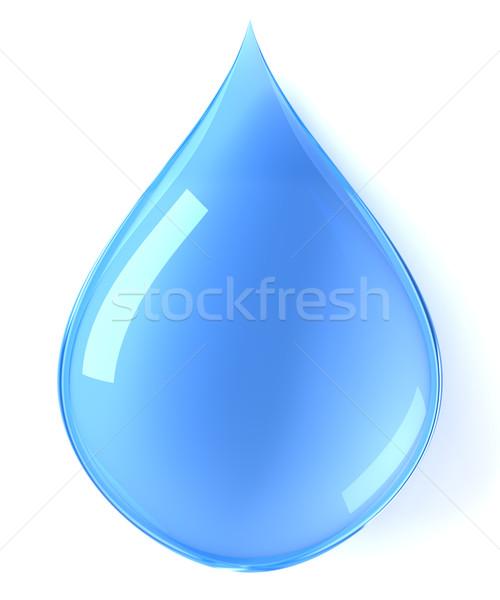 Su damlası doğa arka plan hayat temizlemek grafik Stok fotoğraf © SSilver