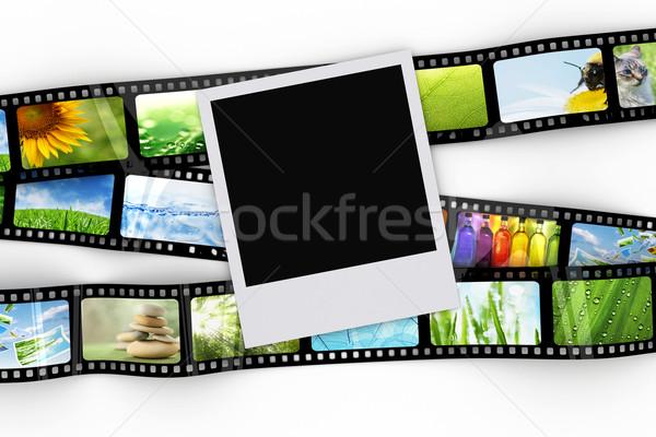 Foto filme projeto vídeo preto vintage Foto stock © SSilver