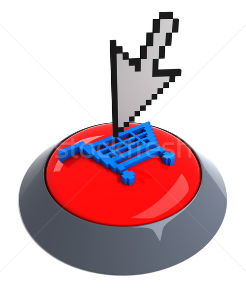 Add to cart button Stock photo © SSilver