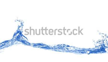 Acqua blu velocità colore spa Foto d'archivio © SSilver