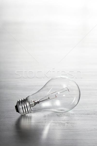 Ampul endüstriyel güç elektrik elektrik ampul Stok fotoğraf © SSilver