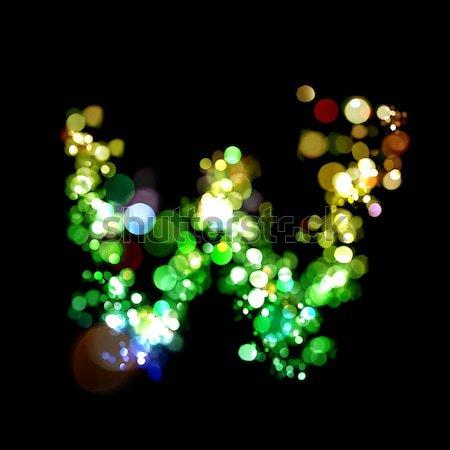 ライト 文字 青 手紙 楽しい ストックフォト © SSilver