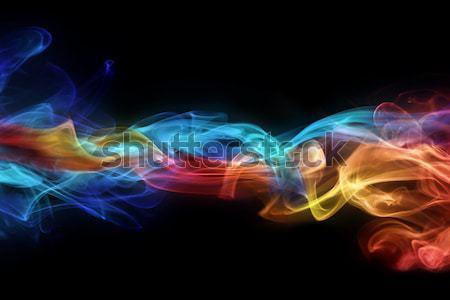 Fire & ice design Stock photo © SSilver