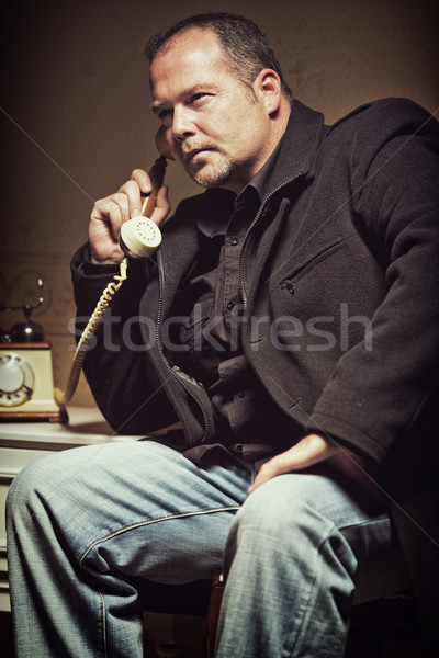 Very important call Stock photo © Steevy84