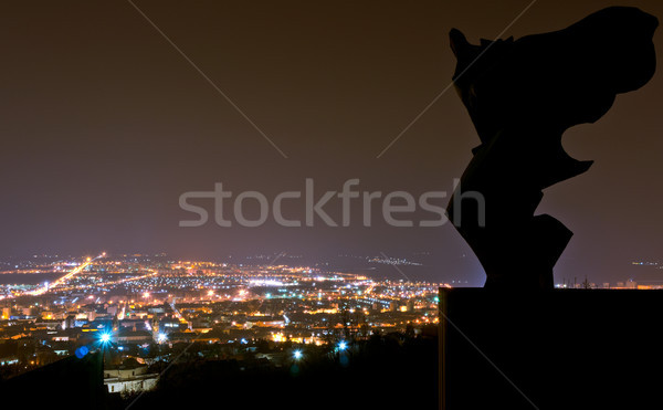 Angel over the City Stock photo © Steevy84