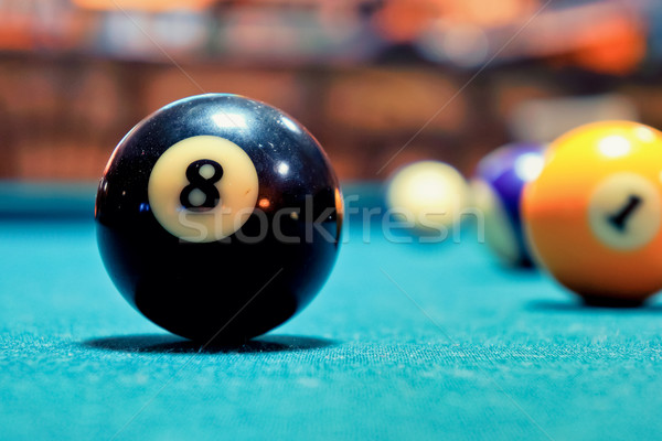 Black Ball Stock photo © Steevy84