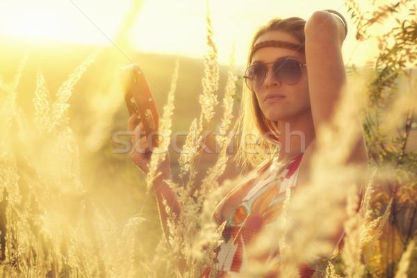 Autumn Music Stock photo © Steevy84