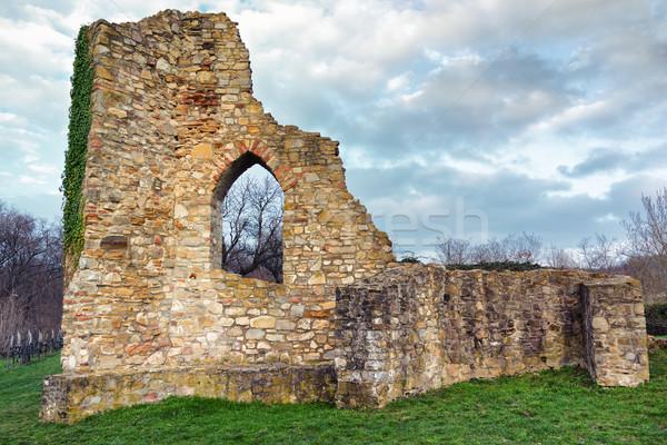 Castle Ruin Stock photo © Steevy84