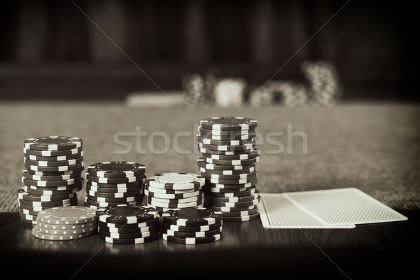 Vintage Poker Stock photo © Steevy84