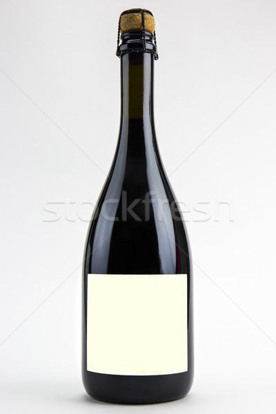şişe yalıtılmış beyaz şarap arka plan Stok fotoğraf © stefanoventuri
