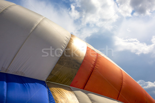 Detail of a colorful hot air balloon Stock photo © stefanoventuri