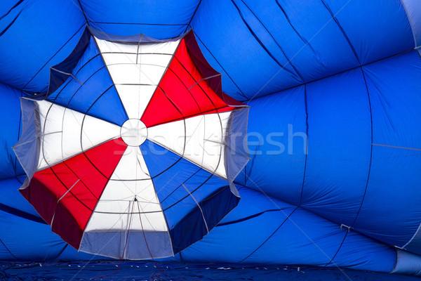 Inside a hot air balloon Stock photo © stefanoventuri