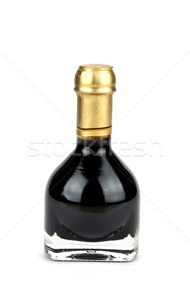 Hagyományos olasz balzsamecet bent különleges üveg Stock fotó © stefanoventuri