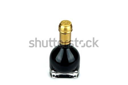 Traditioneel Italiaans balsamico azijn binnenkant speciaal fles Stockfoto © stefanoventuri