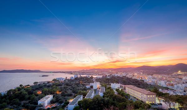Ibiza sunset Stock photo © Steffus
