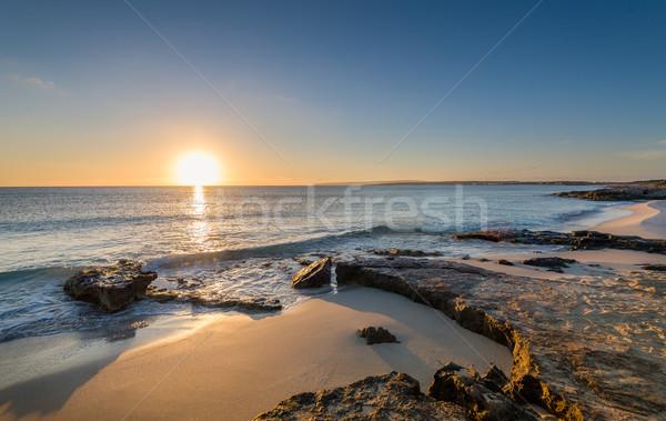 Sunrise at Formentera island Stock photo © Steffus