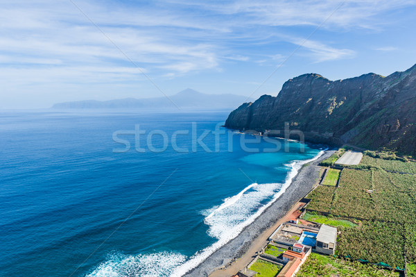 óceán tengerpart LA sziget Kanári-szigetek Spanyolország Stock fotó © Steffus