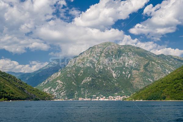 Adriatic sea mountain coast landscape Stock photo © Steffus