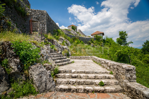 Bedem fortress ruins Stock photo © Steffus