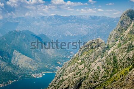 Boka Kotor bay rocky landscape Stock photo © Steffus