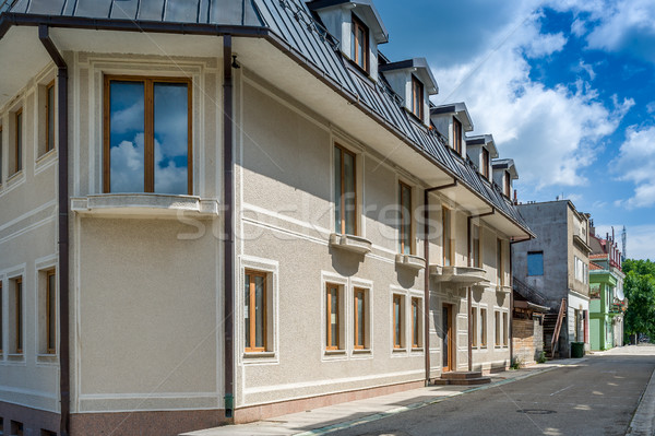 города старые улице Черногория исторический Сток-фото © Steffus