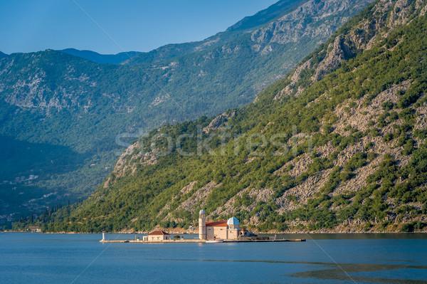 Anne Tanrı tarihsel ada işaret manastır Stok fotoğraf © Steffus