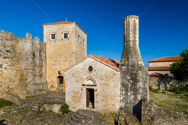 Ulcinj old town museum in an ancient fortress. Montenegro Stock photo © Steffus