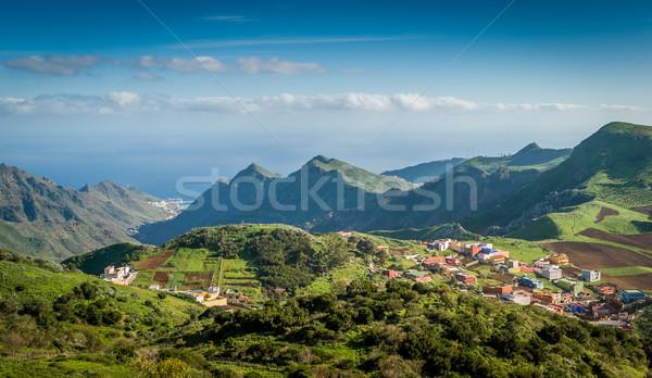 Mountain village Stock photo © Steffus