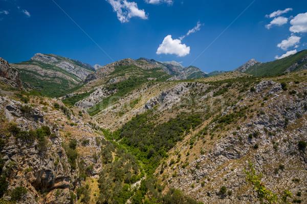 Черногория горные пейзаж Бар города мнение Сток-фото © Steffus