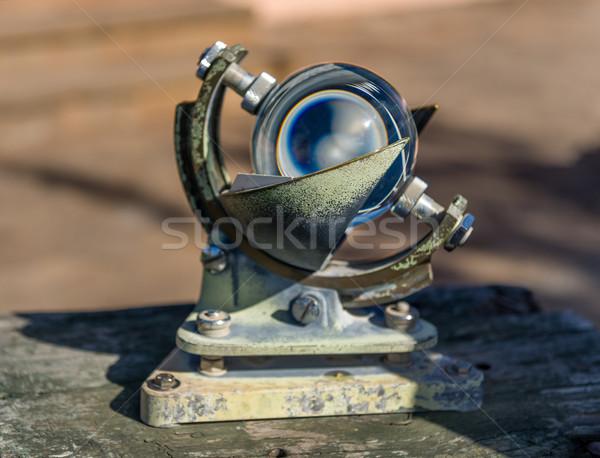 Vintage mar navegação instrumento ver Foto stock © Steffus