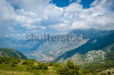 горные мнение древних города форт гор Сток-фото © Steffus