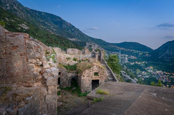 древних монастырь гор руин исторический Сток-фото © Steffus
