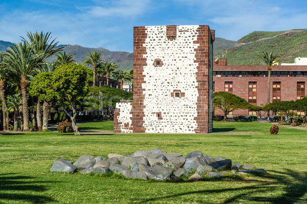Torre del conde tower in San Sebastian de La Gomera Stock photo © Steffus