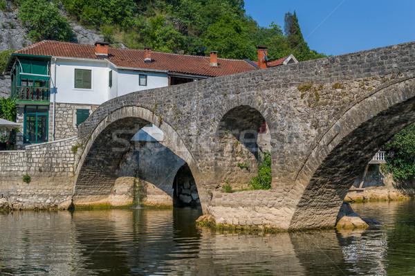 старые моста реке старый город средневековых каменные Сток-фото © Steffus