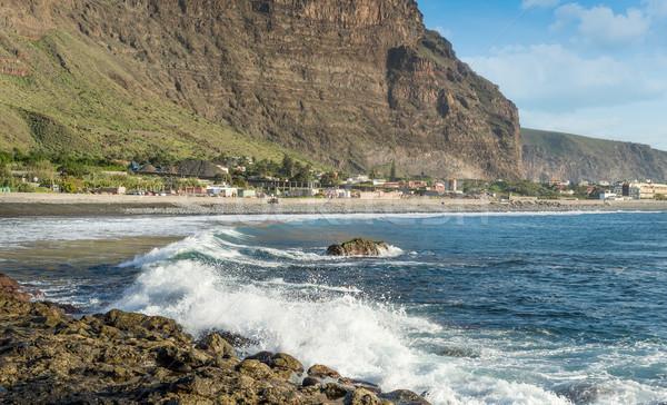 город острове океана пород пейзаж Сток-фото © Steffus