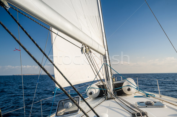 Photo stock: Voile · yacht · arc · Espagne · mer