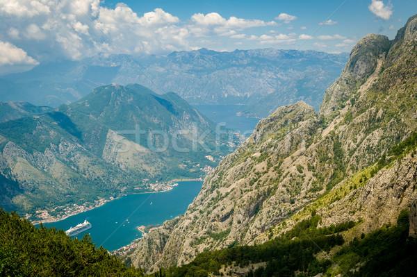 мнение горные Черногория облака природы Сток-фото © Steffus