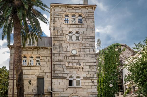 старый город исторический часы башни лет каменные Сток-фото © Steffus