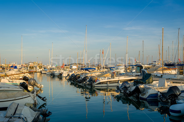 Small boats in Ibiza marina Stock photo © Steffus