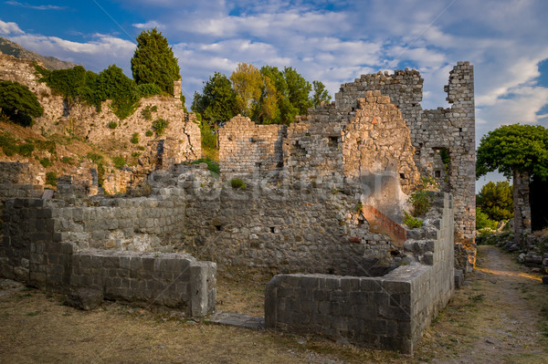 Bar Old Town fortress ruins, Montenegro Stock photo © Steffus