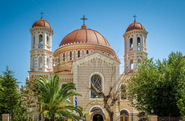 Selanik katedral büyük güzel yaz Stok fotoğraf © Steffus