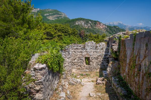 форт руин средневековых крепость Черногория древних Сток-фото © Steffus