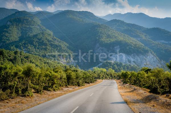 дороги гор горные деревне небе природы Сток-фото © Steffus