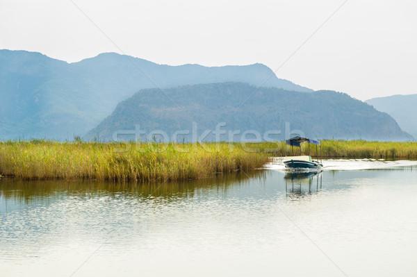 небольшой лодка утра Турция Сток-фото © Steffus