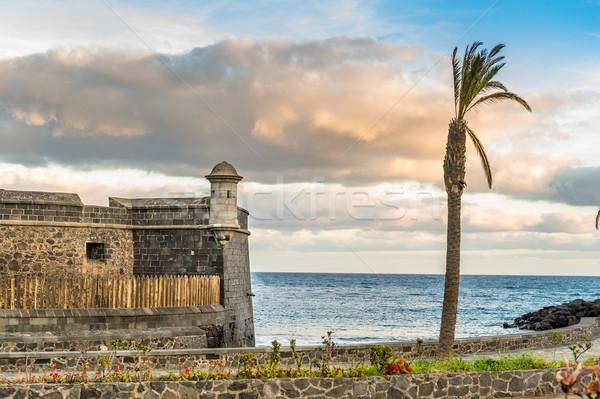 Fortress at Santa-Cruz de Tenerife Stock photo © Steffus