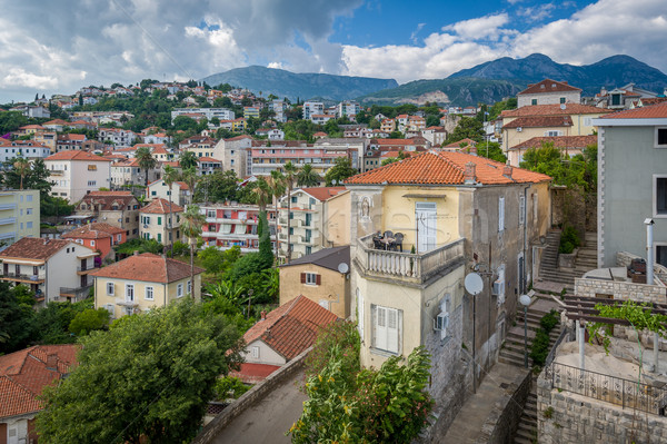 Herceg Novi old town Stock photo © Steffus