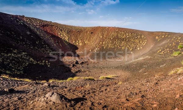 Etna volcano crater Stock photo © Steffus