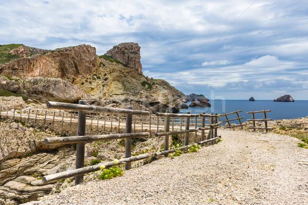 Balearic island pedestrian way Stock photo © Steffus