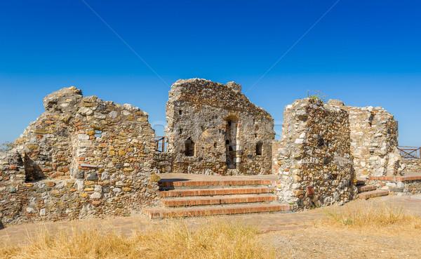 древних руин популярный город Сицилия Сток-фото © Steffus